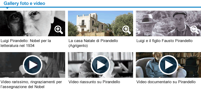 Foto e Video su Pirandello