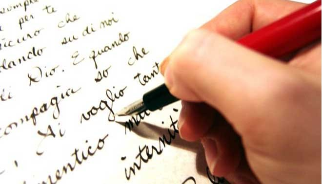 come scrivere lettere in francese esame terza media