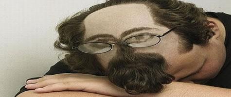 Taglio di capelli uomo strani