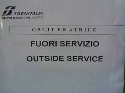 strafalcioni inglesi: out of order diventa outside service