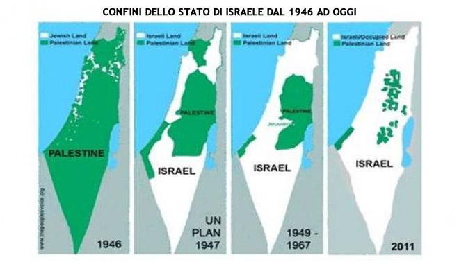 Stato Di Israele Cartina 2019.Nascita Dello Stato Di Israele Storia Sionismo E Questione Palestinese