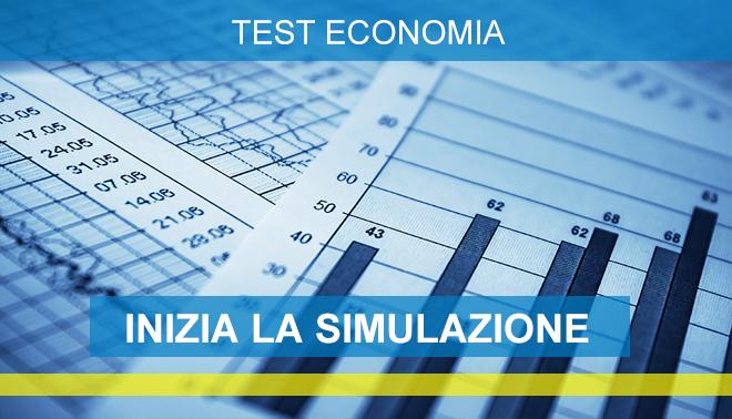test ingresso economia simulazioni online