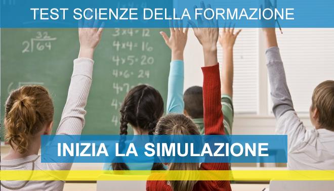 Simulazioni online Test Scienze della Formazione Primaria 2020