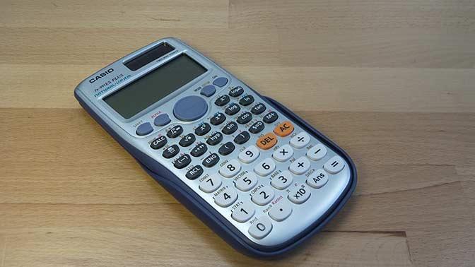 Come Usare una Calcolatrice Scientifica per l'Algebra