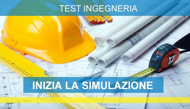 test ingresso ingegneria simulazioni online