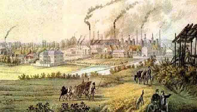 Prima rivoluzione industriale for Prime case in nuova inghilterra