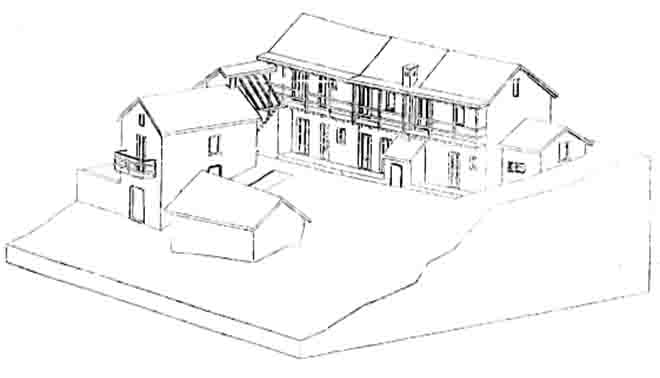 L 39 assonometria cavaliera for Architettura disegnata