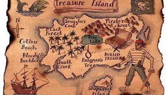 Risultati immagini per l'isola del tesoro
