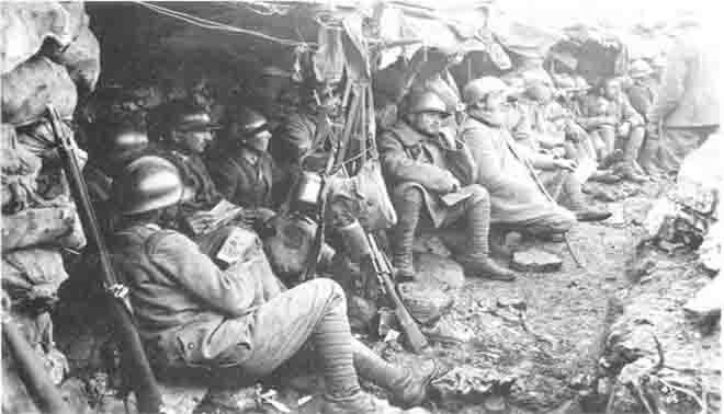 Giuseppe Ungaretti commento soldati