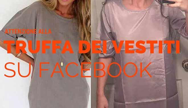 82b8103642f4 Non comprare quei vestiti  ecco la truffa su Fb