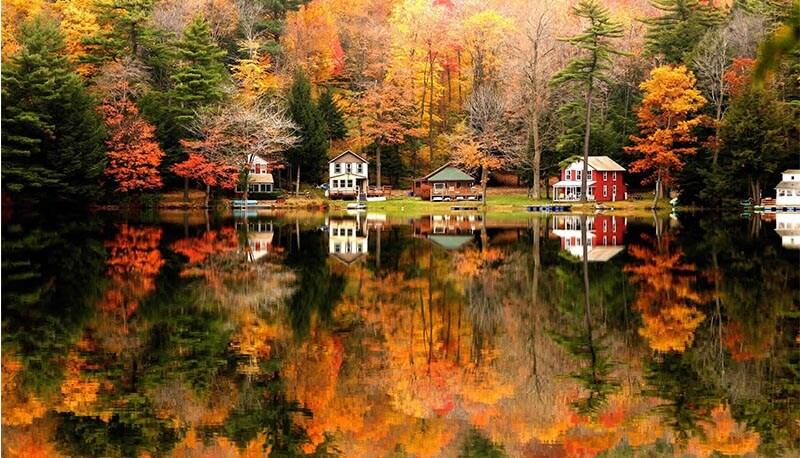 Paesaggio autunnale for Immagini autunno hd