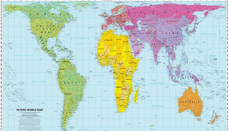 Peters vs Mercatore qual la vera carta geografica