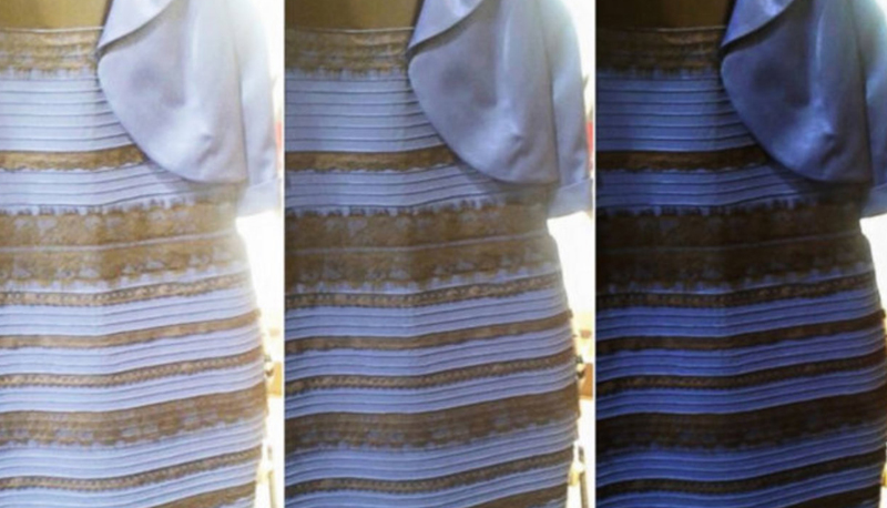 f7677a387f79 Bianco e oro o nero e blu  Dipende dalla tua personalità  svelato il  mistero del vestito