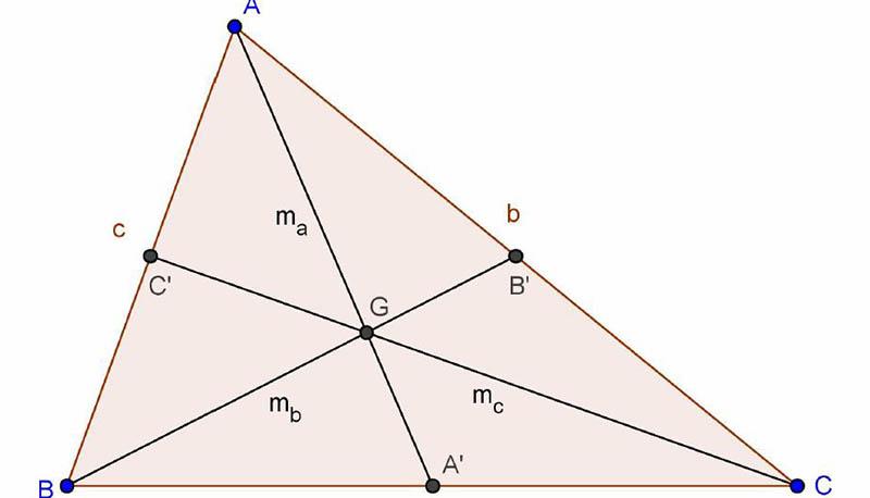 Regole Della Mediana Di Un Triangolo