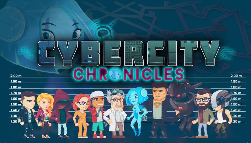 app Cybercity Chronicles videogioco
