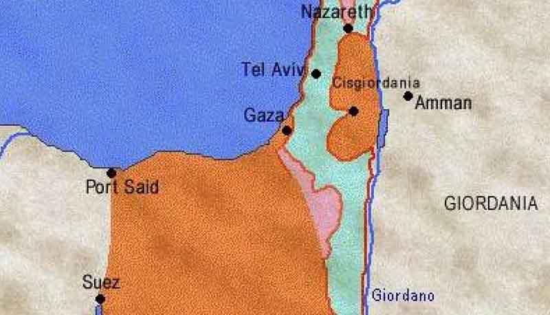 Israele Palestina Cartina.Israele E Palestina Descrizione Del Conflitto Con Analisi Delle Caratteristiche