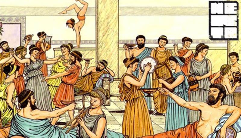 Racconto storico sui greci: descrizione di una giornata tipica ...
