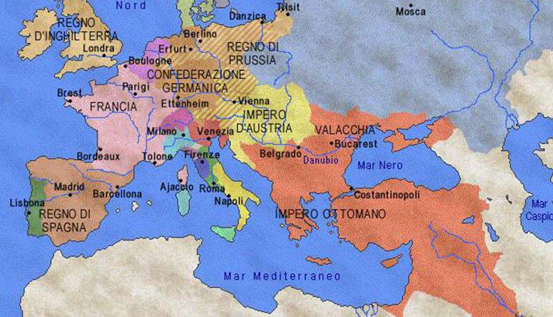Cartina Europa 700.Russia E Prussia Nel Xvii Secolo