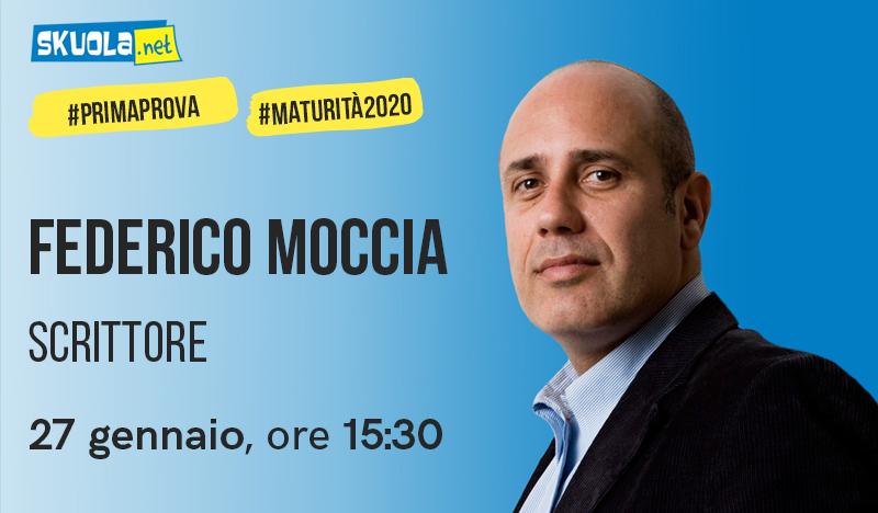 Maturità 2020: i consigli di Federico Moccia, ospite della Skuola Tv!