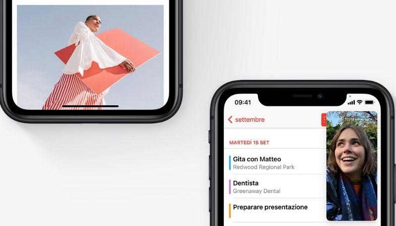 iOS 14: cosa vuol dire il puntino arancione o verde?