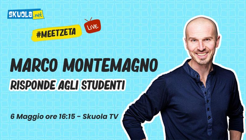 Marco Montemagno risponde agli studenti – #MeetZeta