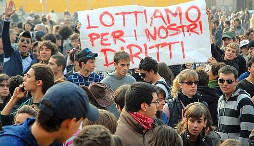 Sciopero studenti, weekend di proteste
