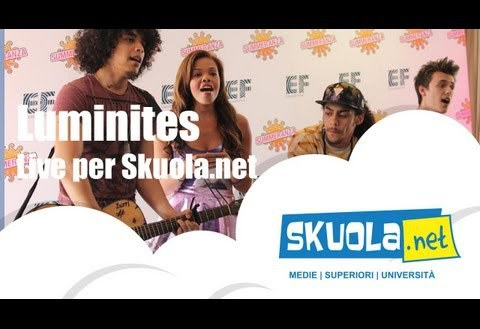 Luminites: da Britain's got Talent per Skuola.net