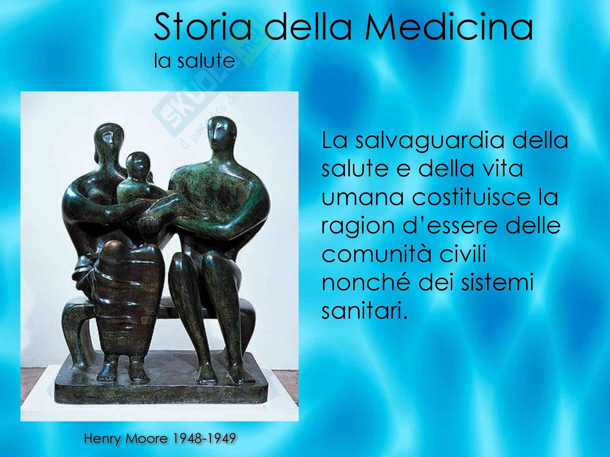 Storia della medicina - La salute