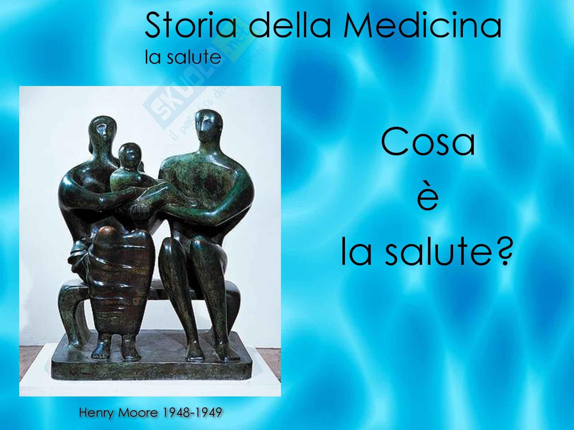 Storia della medicina - La salute Pag. 2