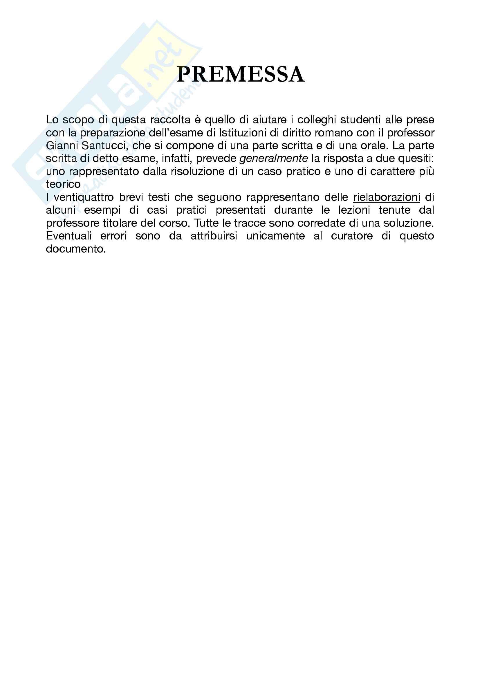 Esercitazioni su casi pratici di diritto romano Pag. 2