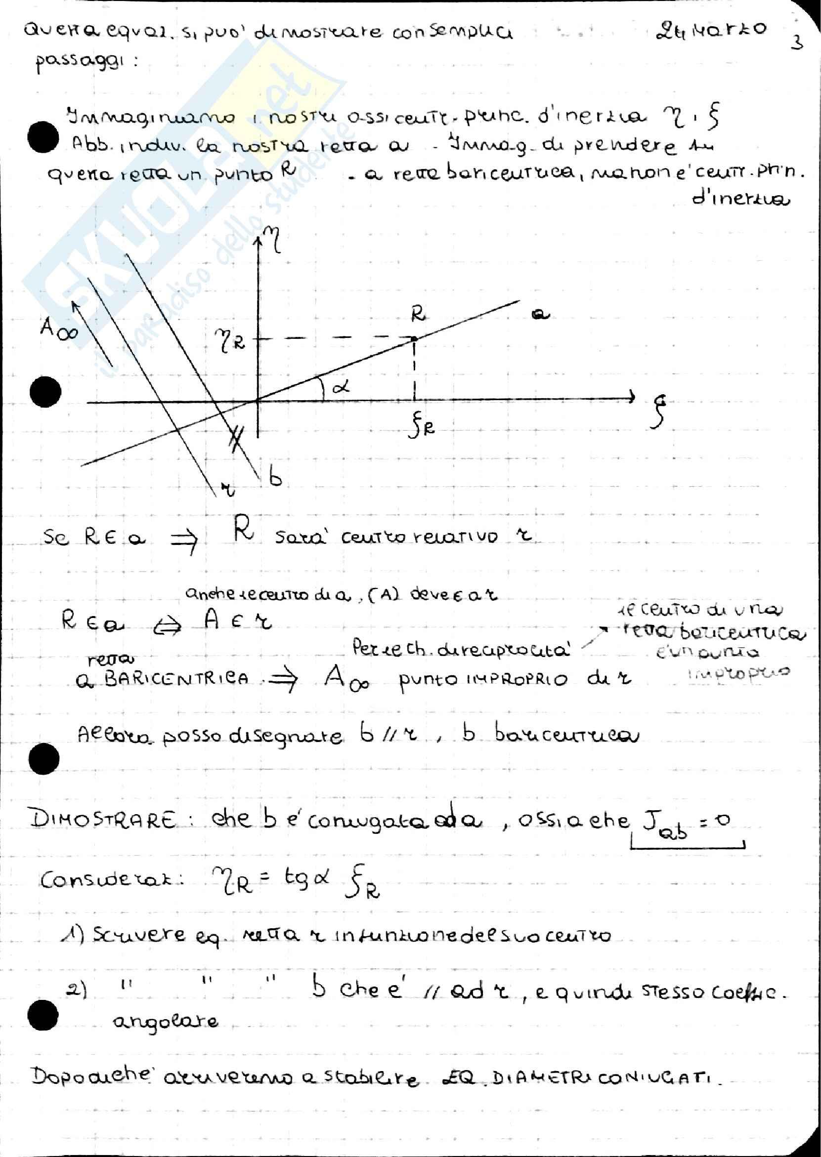 Geometria delle masse, Scienza delle costruzioni Pag. 61