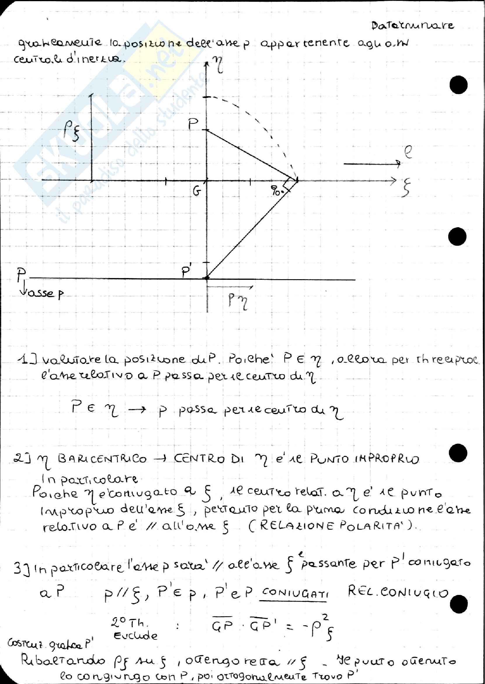 Geometria delle masse, Scienza delle costruzioni Pag. 76