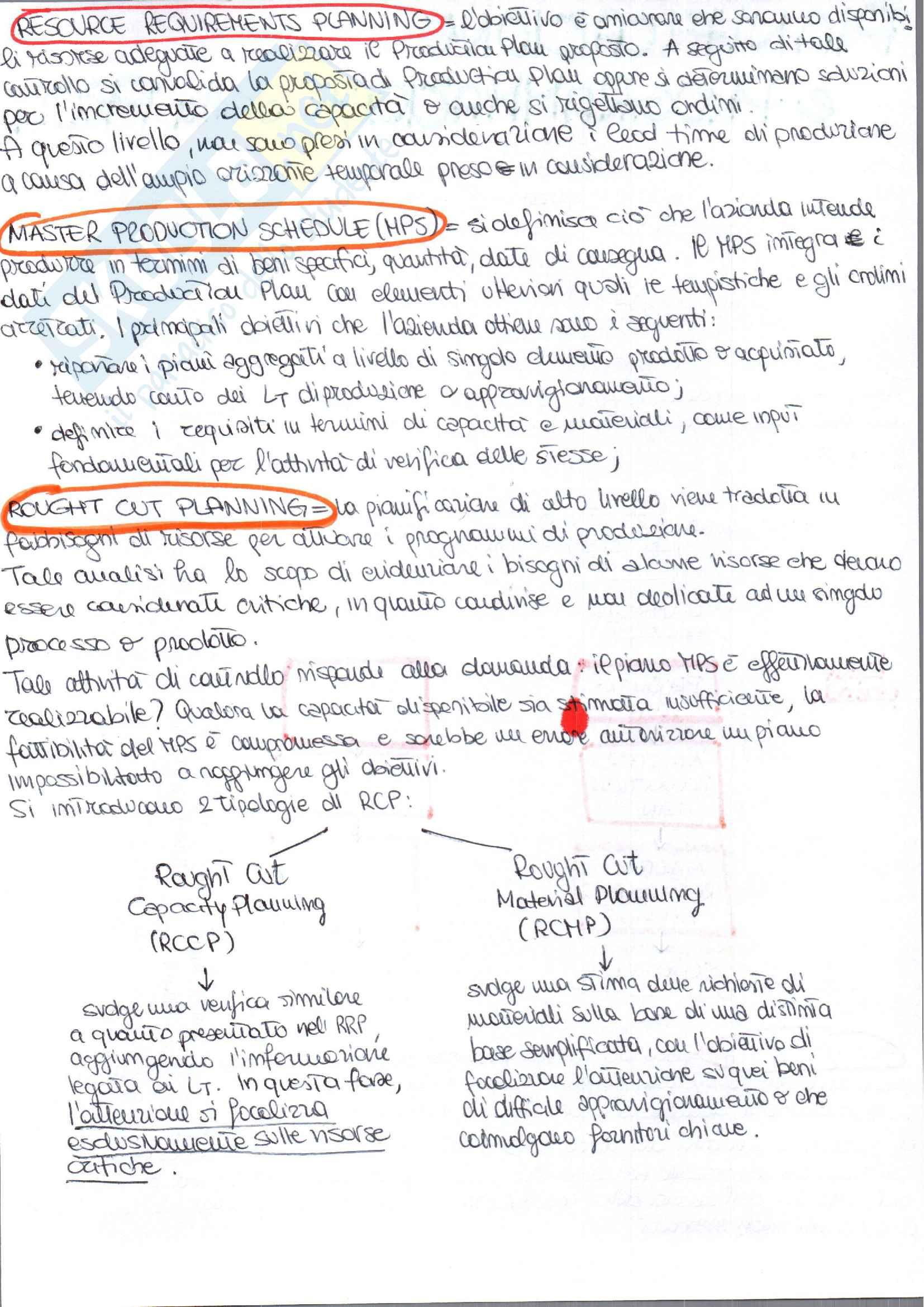 Appunti di Gestione degli Impianti Industriali prof. Costantino Pag. 26