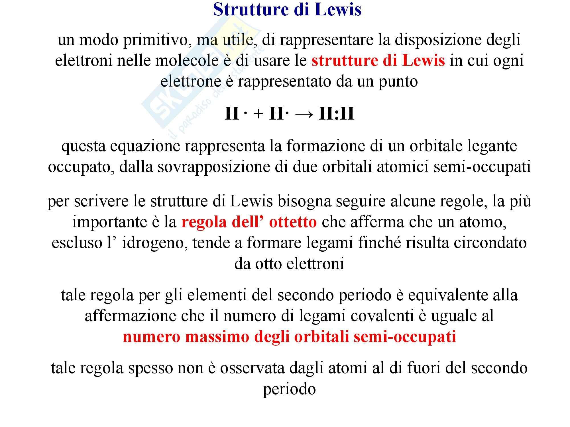 Strutture di Lewis, Chimica generale Pag. 2