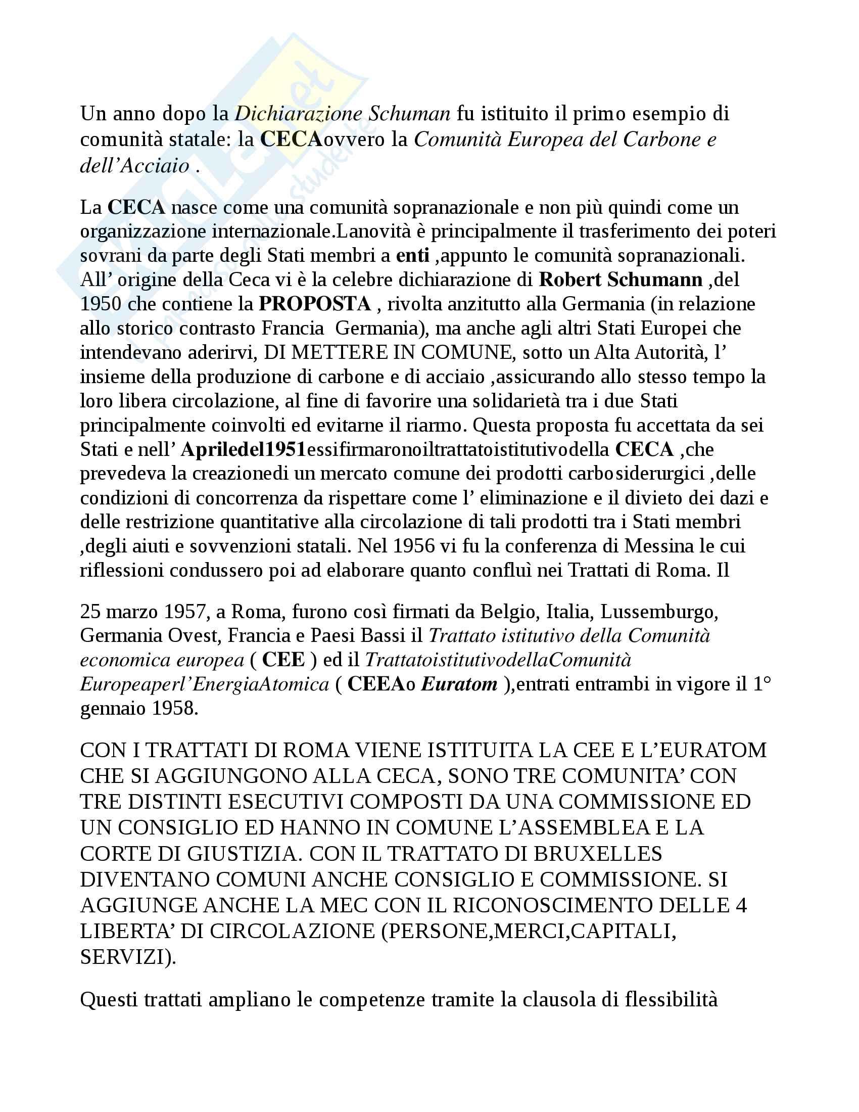 Riassunto per l'esame di diritto pubblico dell'economia LUISS - Canali A-B-C-D; Libro consigliato Pellegrini (aggiornato 2016) e Rossano Pag. 2