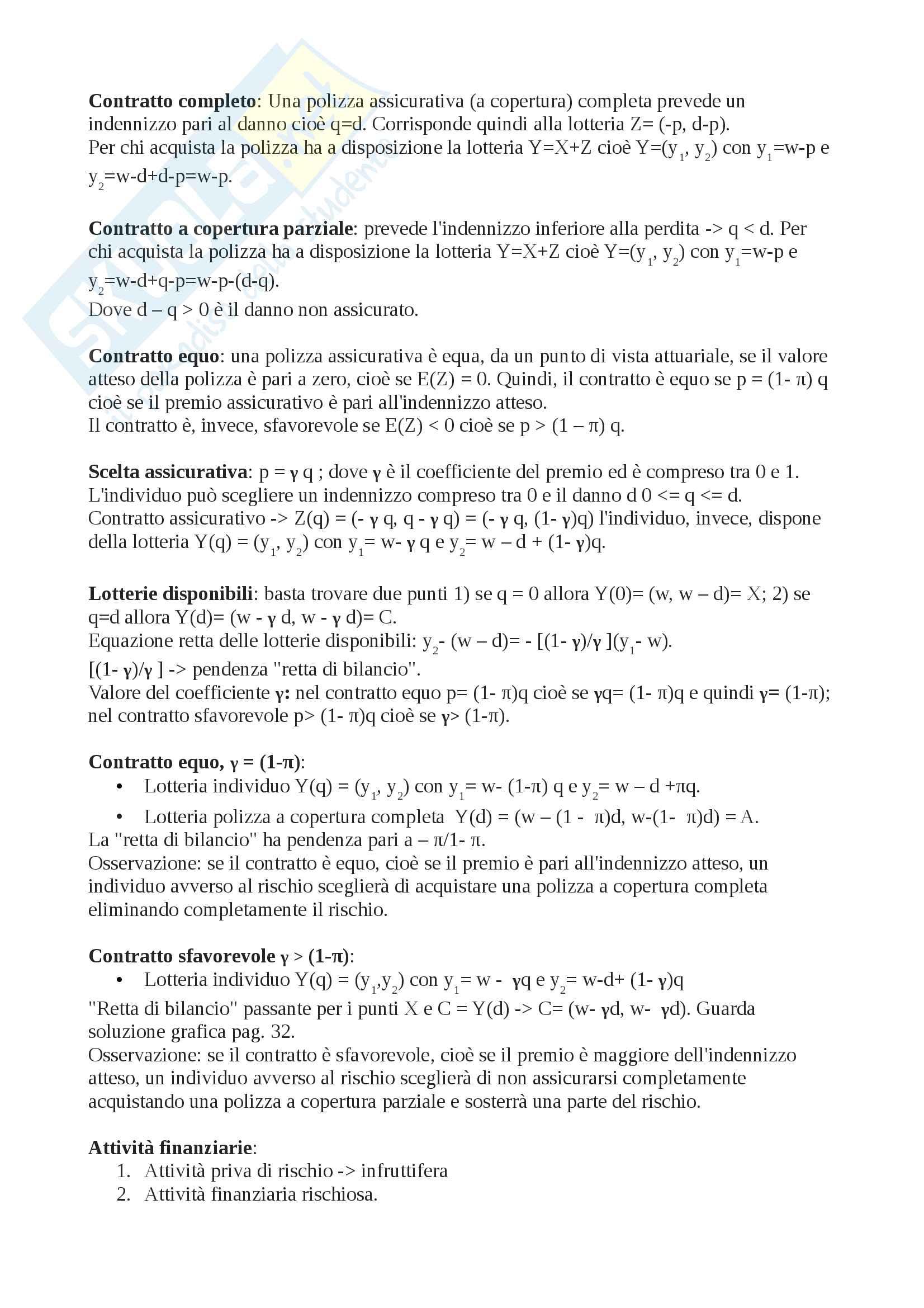 Microeconomia (cenni semplici per passare con 30) Pag. 2