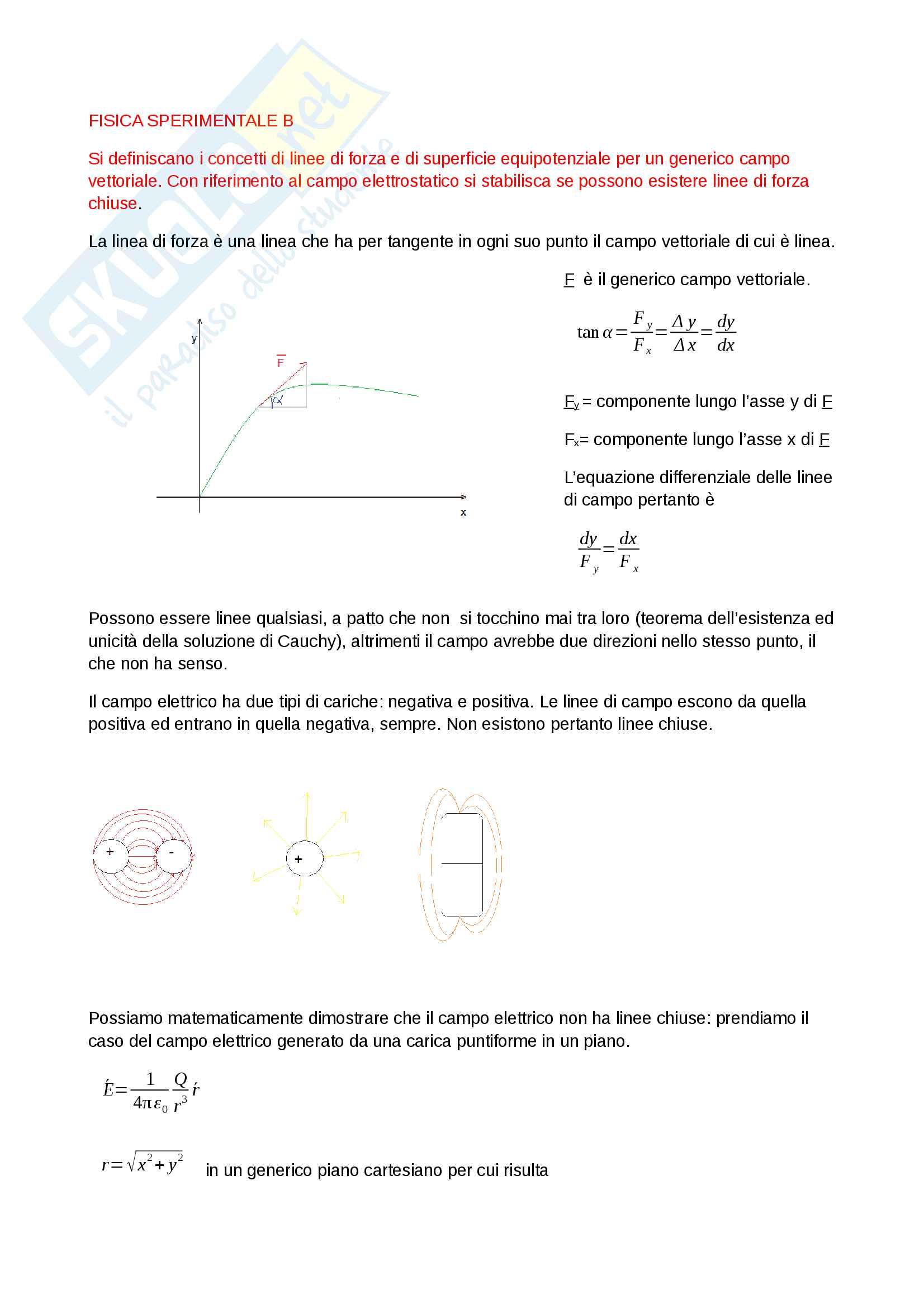 Fisica sperimentale B