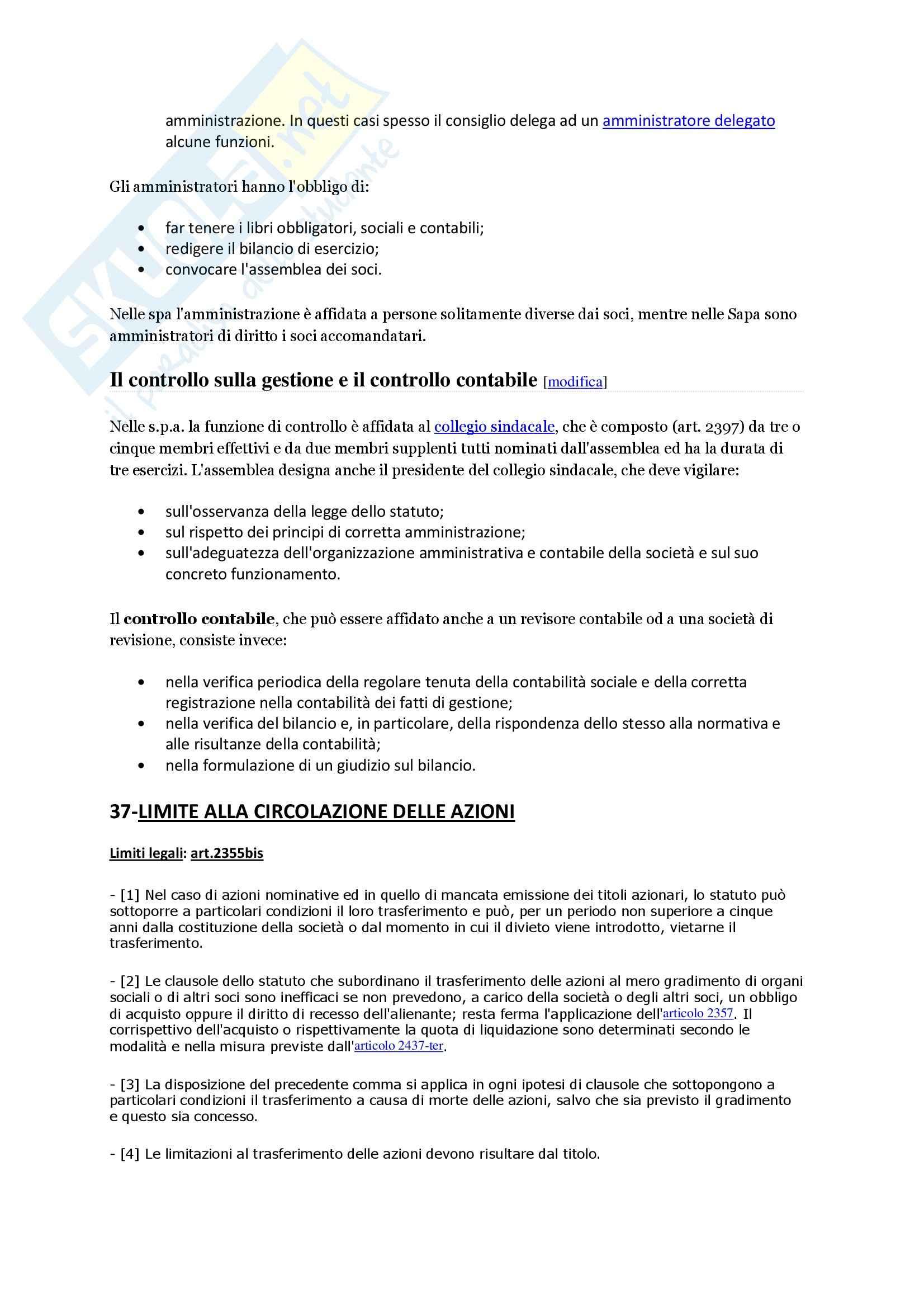 Diritto commerciale - Risposte e domande Pag. 21