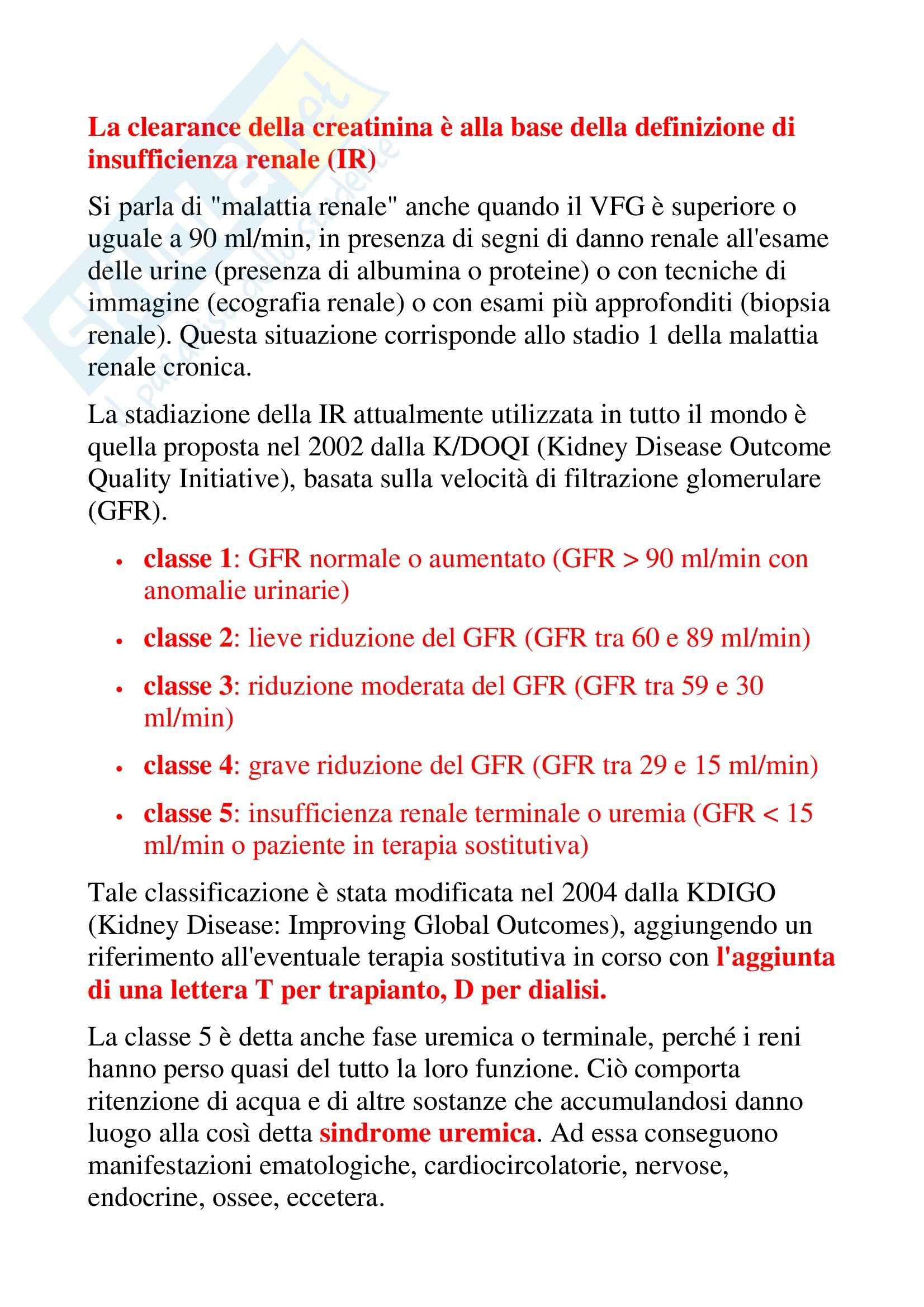 La funzione dei reni Pag. 11