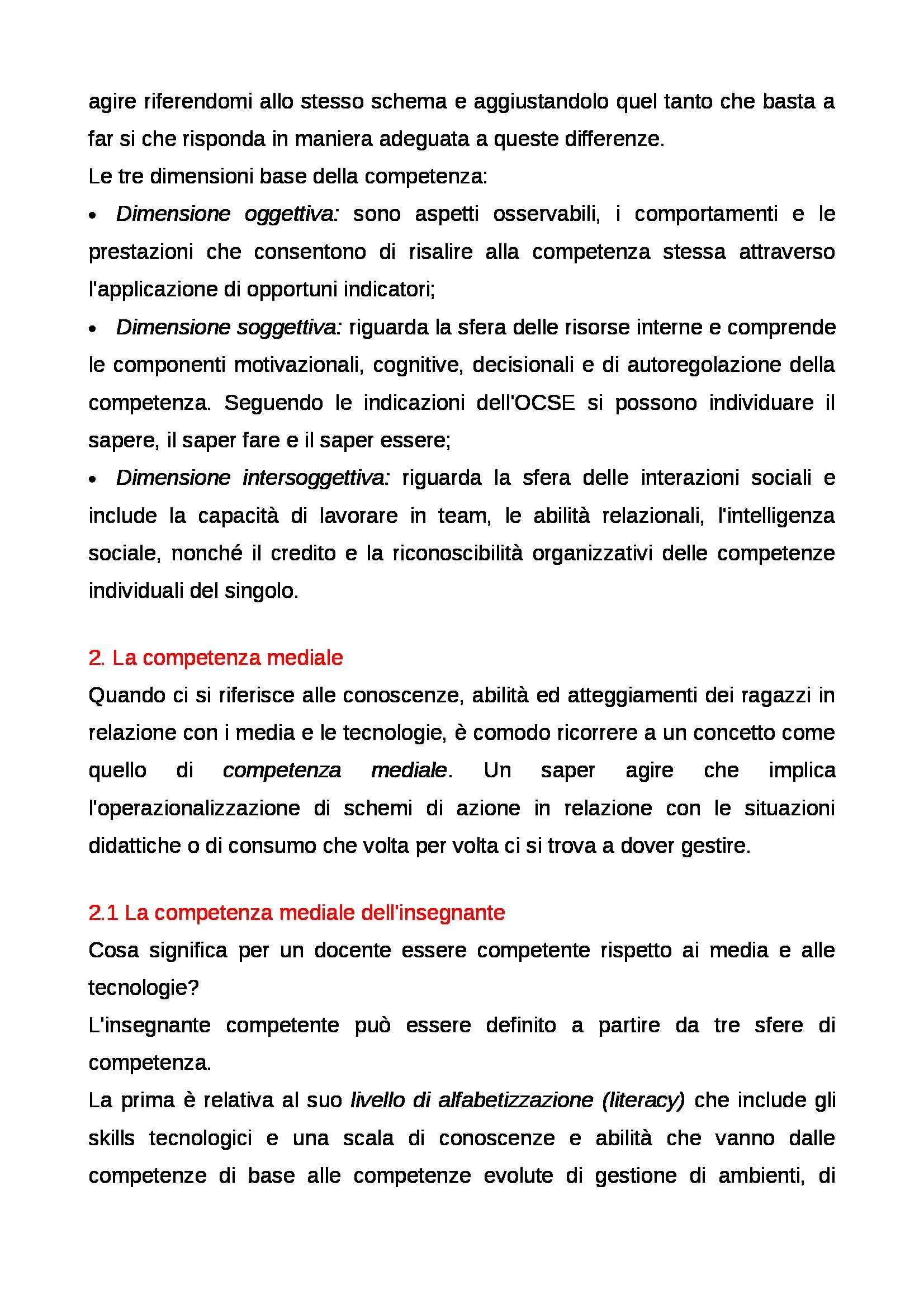 Riassunto esame Educazione mediale, prof. Faiella, libro consigliato Media e tecnologie per la didattica, Ardizzone, Rivoltella Pag. 36