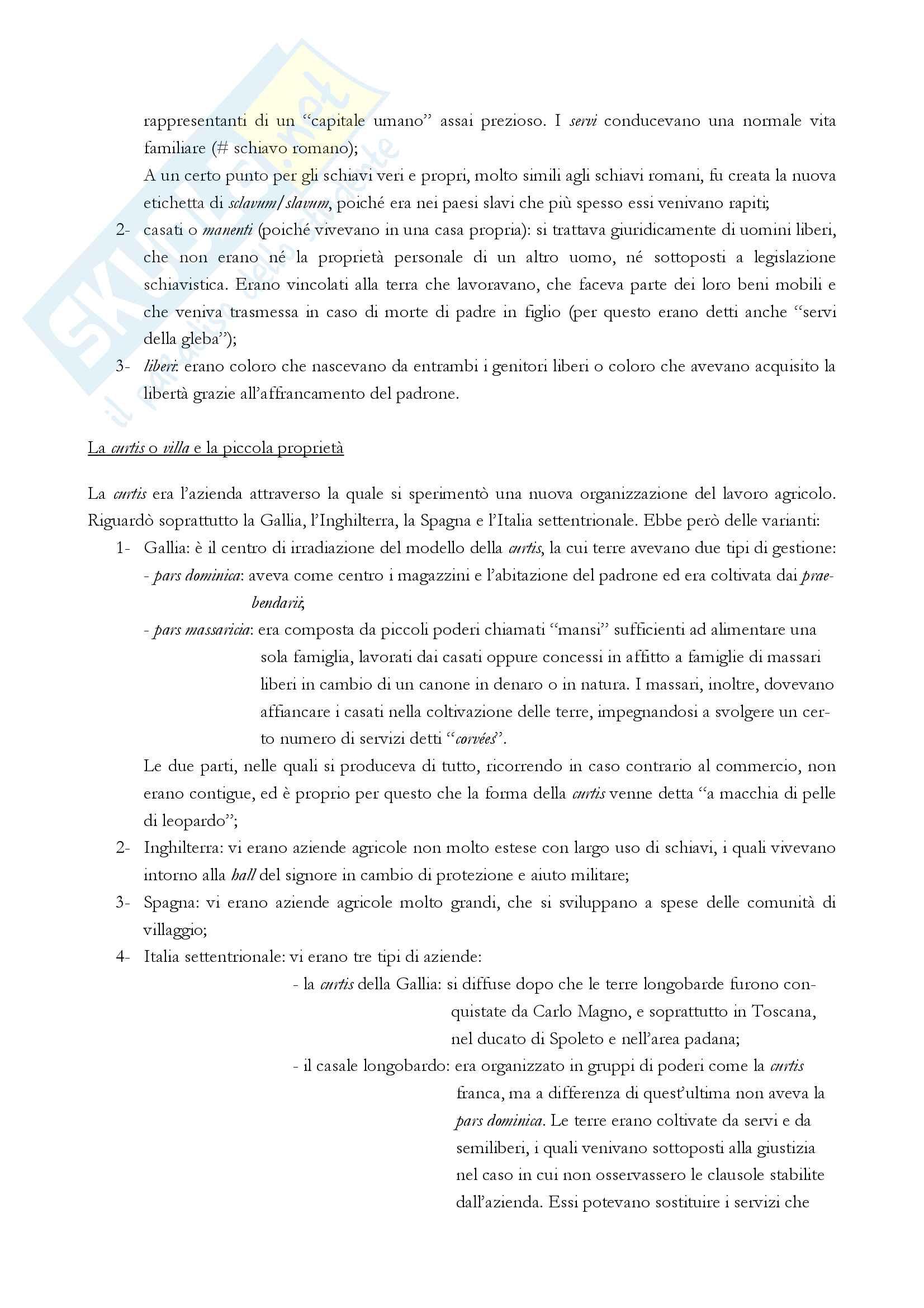 """Riassunto esame storia medievale, Prof. Varanini, libro consigliato """"I mille anni del Medioevo"""" (G. Piccinni) (prima parte) Pag. 16"""
