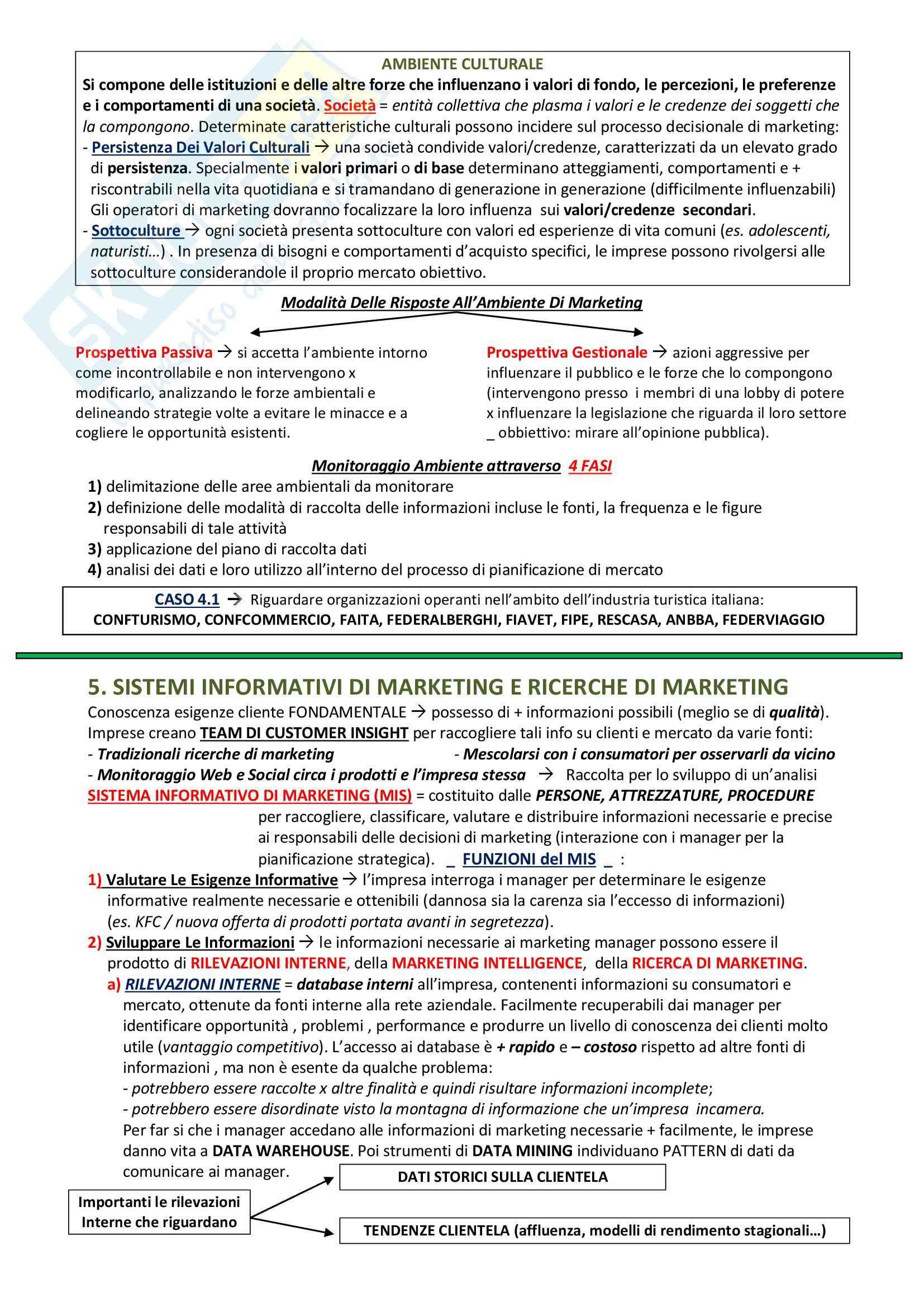 Materiale Didattico: Marketing Del Turismo Pag. 11