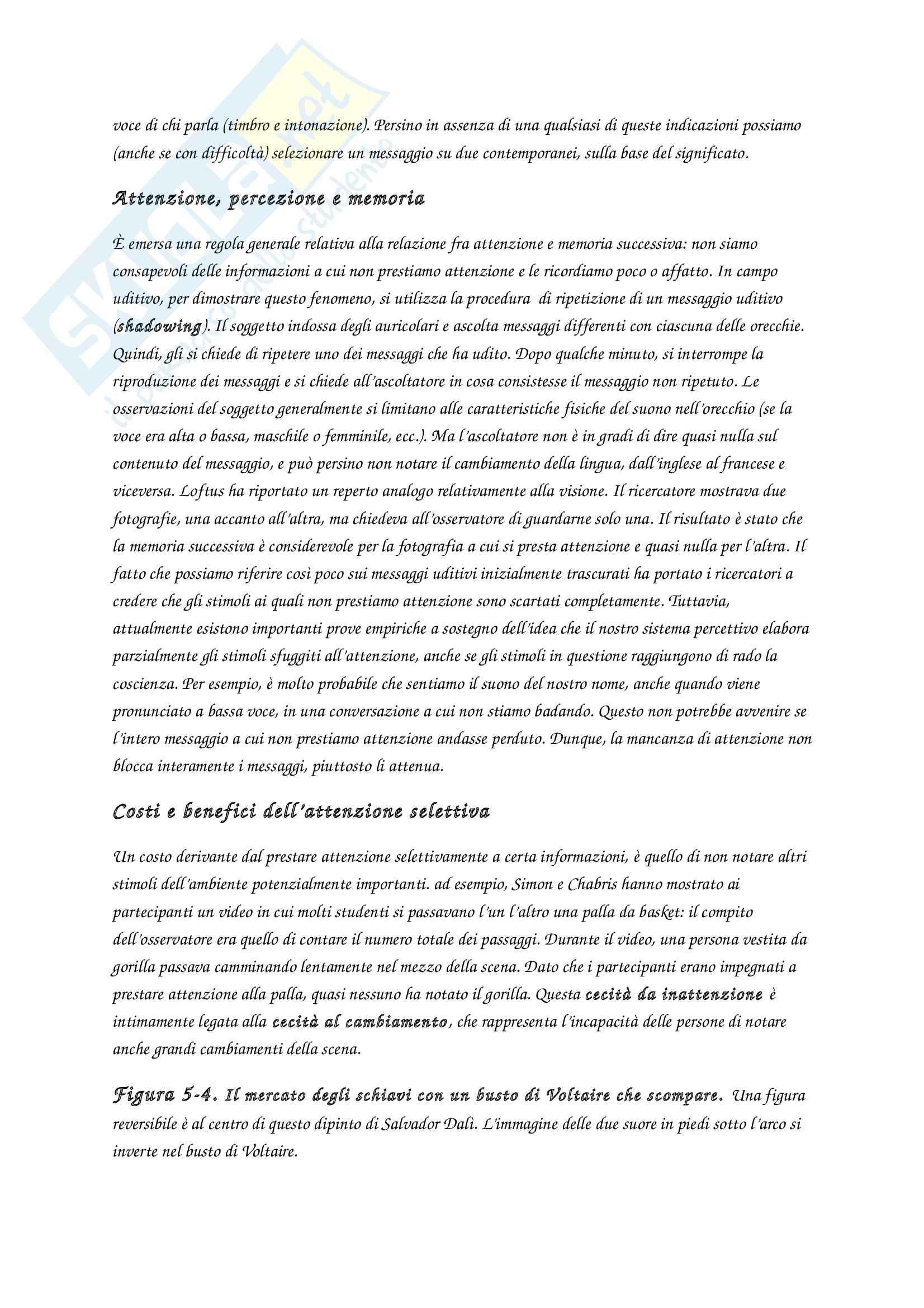Riassunto esame Fondamenti di psicologia generale, prof. Velardi, libro consigliato Introduzione alla psicologia, Atkinson, Hilg Pag. 36