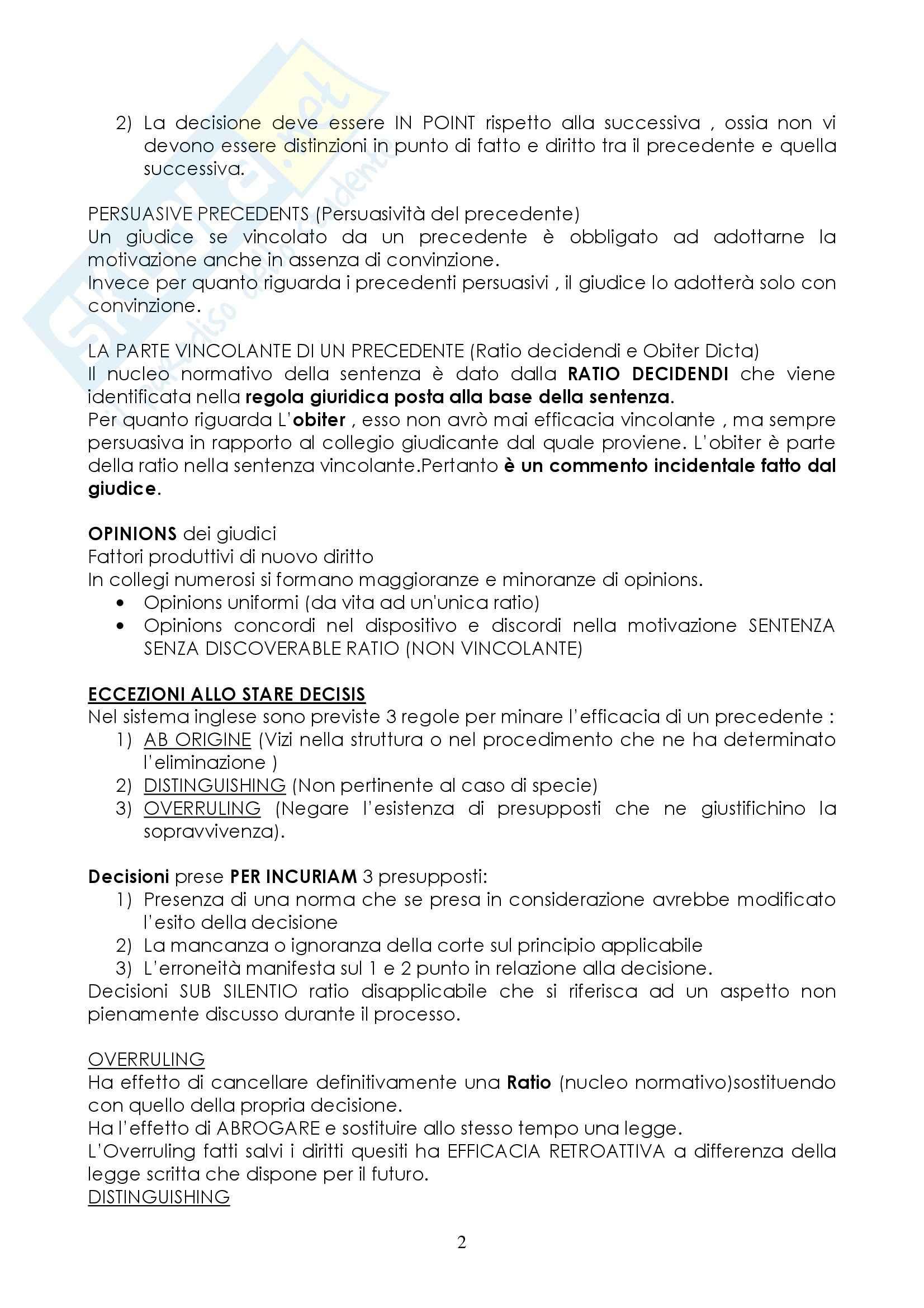 Diritto privato comparato - completo Pag. 2