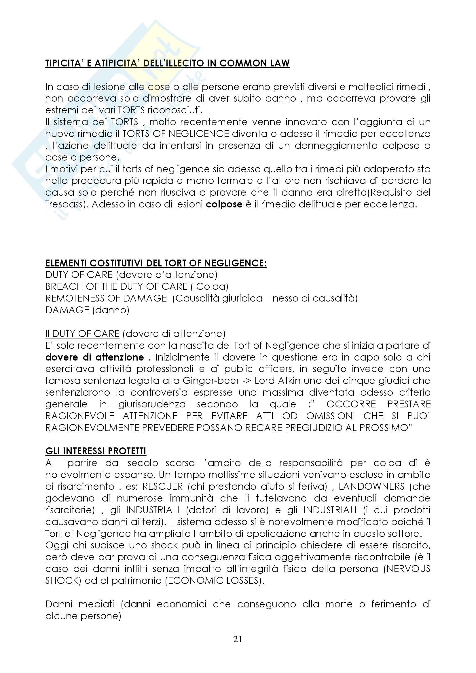 Diritto privato comparato - completo Pag. 21