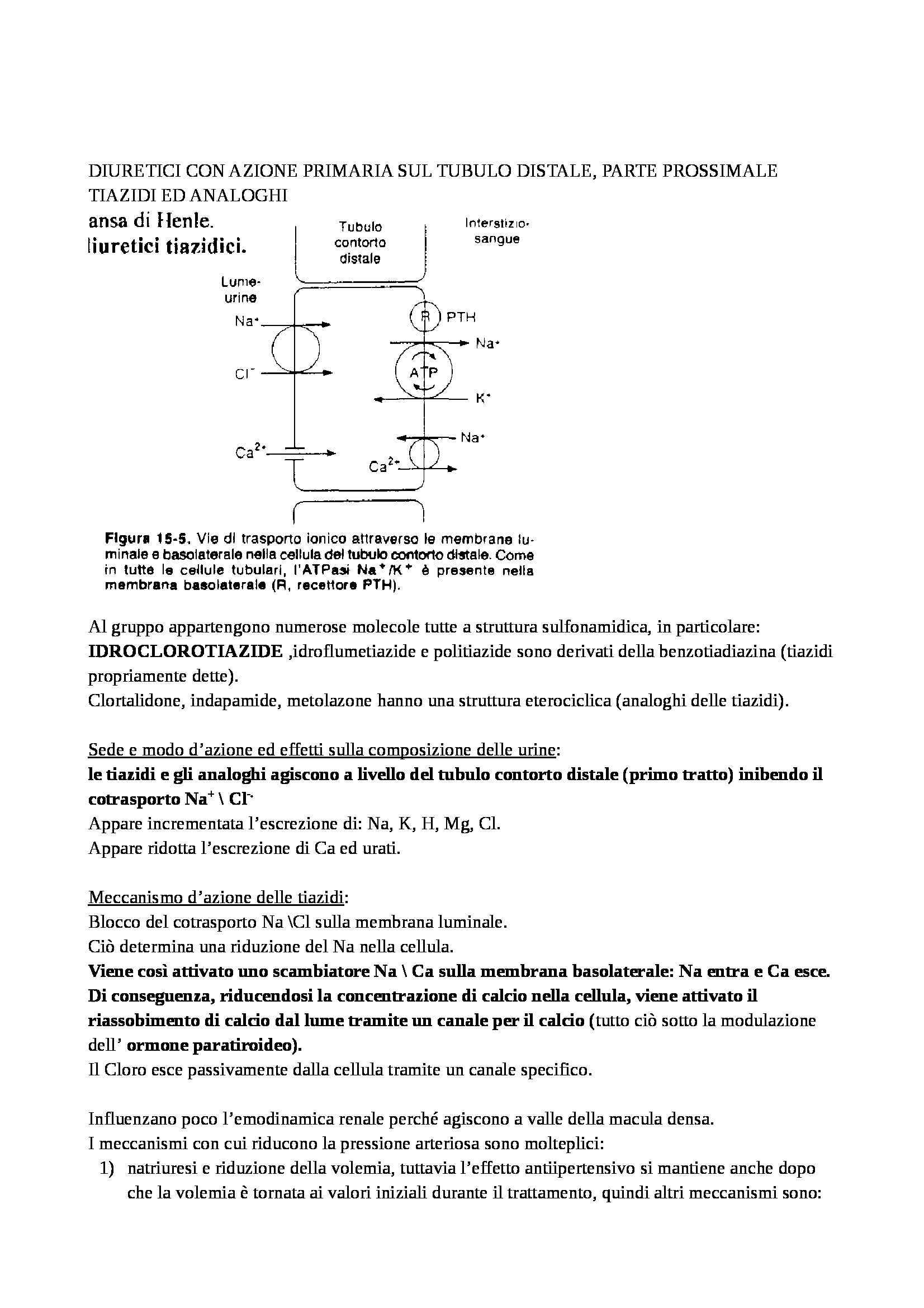 Farmacologia - diuretici Pag. 11