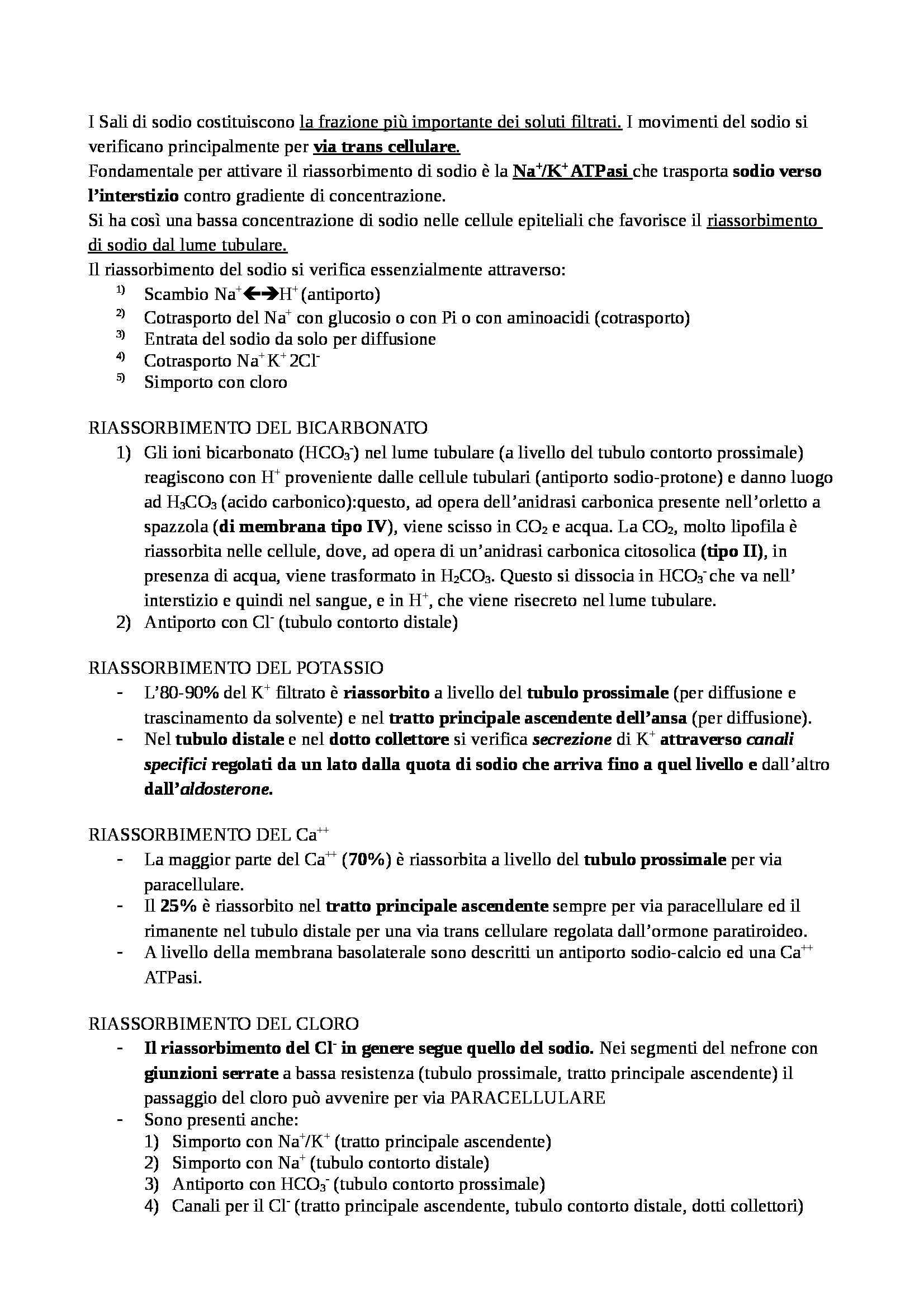 Farmacologia - diuretici Pag. 2