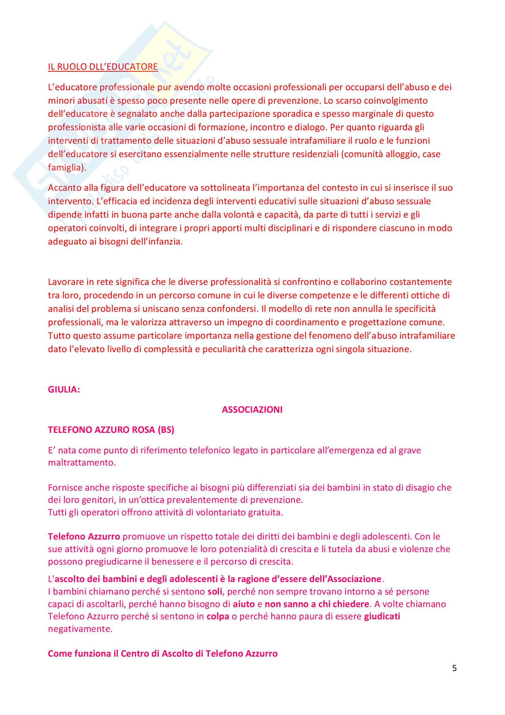 Riassunto esame pedagogia sociale, Prof. Monica Amadini, libro consigliato Pedagogia sociale. Temi e problemi, Luigi Pati Pag. 36