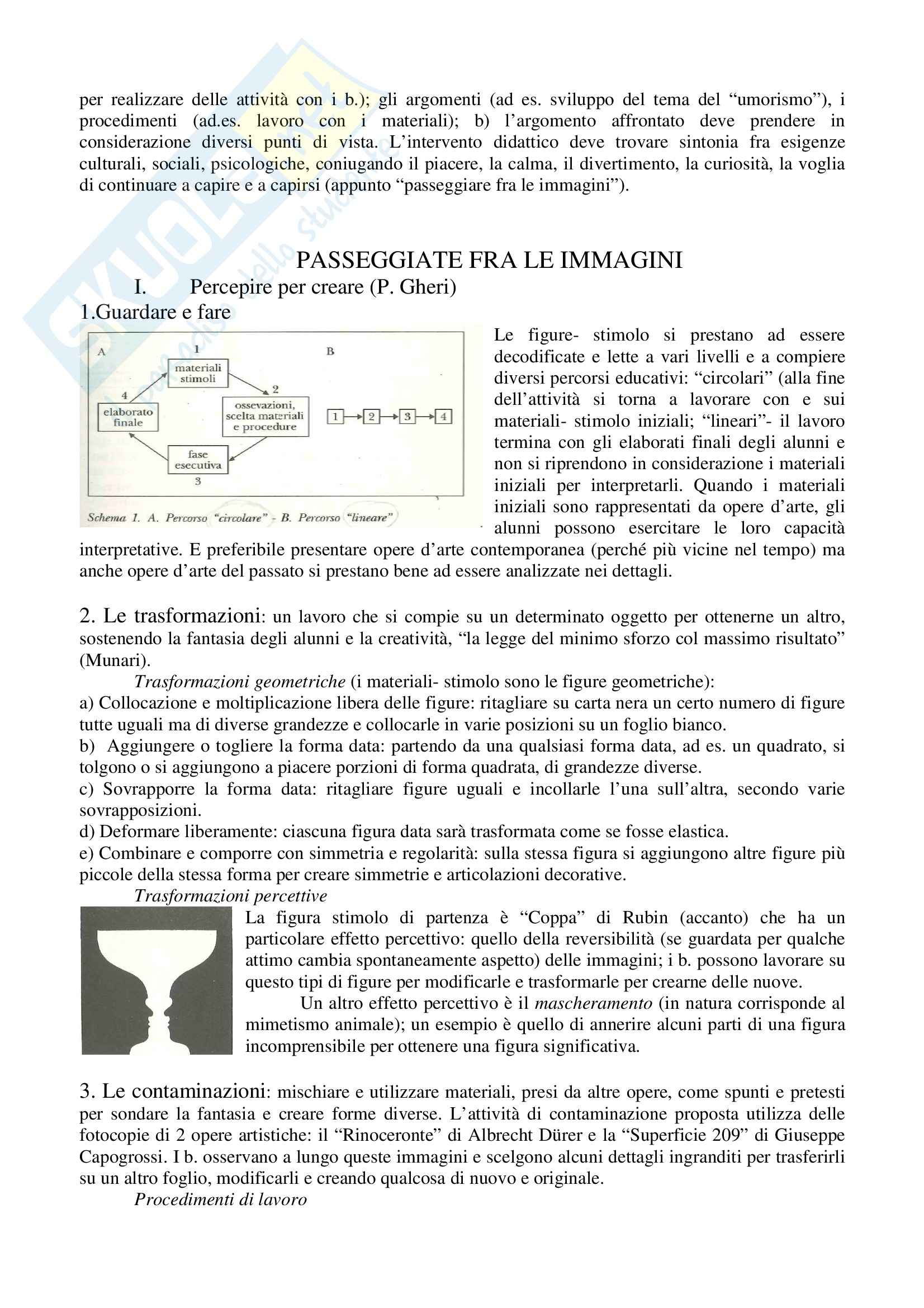 Riassunto esame Animazioni Grafico-pittoriche, prof. Staccioli, libro consigliato Progettare Immagini Pag. 6