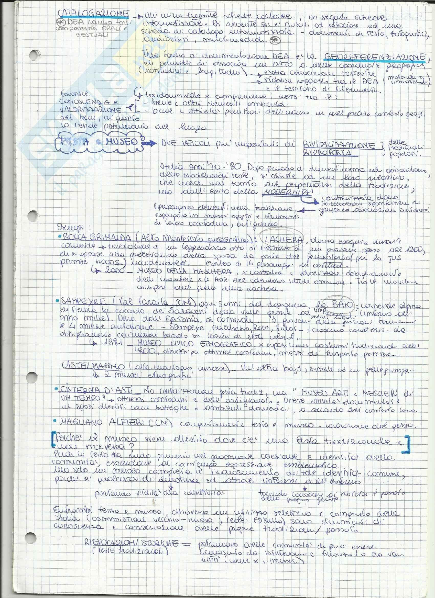 Riassunto esame Antropologia culturale, prof. Zola, libro consigliato Memorie del territorio, territori della memoria, Zola Pag. 2